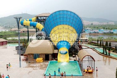 Trung Quốc Interesting big Fiberglass Water Slides for 4 persons / time nhà cung cấp
