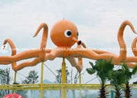 Trung Quốc Customized Outdoor Octopus Spray For Aqua Play Water Park Items Fiberglass Equipment nhà máy sản xuất