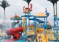 Trung Quốc Professional Kids Water Play Equipment Structures With Water Slide , Climb Net nhà máy sản xuất