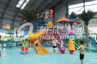 Trung Quốc Interactive Fiberglass  Water House / Slide Toddler Playground Equipment  for Water Park 150 Riders / Time Công ty