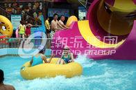 Trung Quốc Children waterslide above ground pool water slide for family interactive water play Công ty