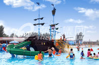 Trung Quốc Corsair Aqua Play Water Park Equipment / Large Holiday Resort Fiberglass Pirate Ship nhà máy sản xuất