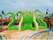 Trung Quốc Colorful Octopus Water Playground Equipment 6100*6100*5000 For Family Recreation Công ty