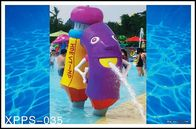 Trung Quốc Fiberglass, PVC Kids Recreation Waterpark Equipments, Pencil Spray Park Equipment Công ty