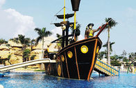 Trung Quốc Customized Fiberglass Pirate Ship / Corsair Aqua Play Water Park Equipment Công ty